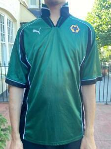 Vintage Wolverhampton Wolves 1996 - 2000 Away Shirt Puma Football Jersey Large