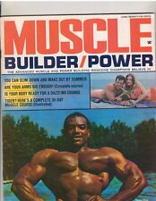 MUSCLE BUILDER bodybuilding magazine/SERGIO OLIVA/Arnold Schwarzenegger 6-70