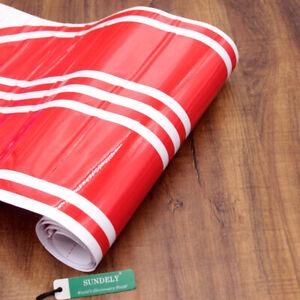 Pair Red Car Racing Stripe Lower Door Panel Decals Vinyl Side Sticker Quality