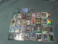Cleveland Browns (35) Football Card Lot Rookies Refractors Topps Chrome Inserts