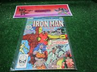 vtg invincible Iron Man 5 king size annual Marvel Comic book 1st print