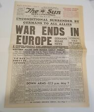 THE SUN - MELBOURNE - TUESDAY MAY 8TH, 1945 - FULL EDITION