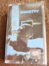 Ministry - Greatest Fits - AUDIO CASSETTE TAPE New, Sealed, Rare Out of Print