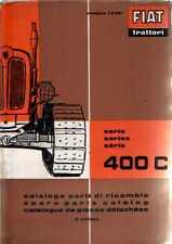 FIAT CRAWLER TRACTOR 400C PARTS MANUAL