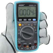 Polimetro Multimetro Tester AC/DC Corriente Voltaje Frecuencia Temperatura Ohm
