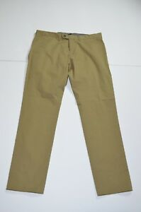NWT Todd Snyder Chino Khaki Pants Sz 33 x 32 Slim Fit Cotton Made in Portugal