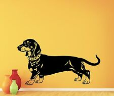 Dachshund Dog Wall Decal Nursery Poster Vinyl Sticker Animal Decor Mural 42aaa
