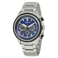 Citizen Eco-Drive Men's Brycen Chronograph Titanium 46mm Watch CA4240-82L