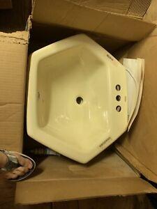 Kohler Hexagon Cast Iron Vintage Sink