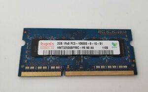 Hynix HMT325S6BFR8C-H9 2GB PC3-10600S-9-10-B1 DDR3 -1333MHz Laptop Memory SODIMM