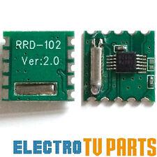 Module rda5807m fm stéréo module radio module sans fil rrd-102v2.0
