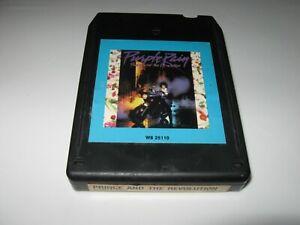** 8 Track Cartridge - Purple Rain by Prince & The Revolution 1984 CRC RARE! **