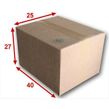 10 boîtes emballages cartons  n° 51   - 400x250x270 mm - simple cannelure
