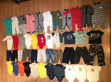 LOT 40 + Pieces Baby Boy Clothes / Outfits 9 - 12 Months Fall / Winter / Spring