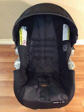 Graco Click Connect 30 35 Baby Car Seat Cover Cushion Canopy Set Part Black Gray