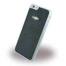 Original Chevrolet Emblème Mirror Effect Cuir Hard Cover Case pour iPhone 6 S Plus