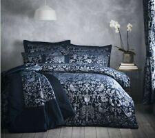 Portfolio Oak Tree King Size Duvet Cover Set - Midnight Blue