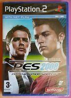 PRO EVOLUTION SOCCER PES 2008 PS2 FOOTBALL GAME brand new & sealed UK ORIGINAL !