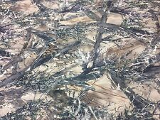 "MC2 CAMO COTTON POLY TWILL FABRIC 60"" YARD HUNTING CAMOUFLAGE WATER REPELLANT"