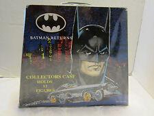 Vintage 1992 BATMAN RETURNS 12 Figures Collectors Box-Case TARA TOY CO. 2 trays