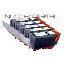 5 cartuchos tinta compatible  NON-OEM PGI-5 CLI-8 Canon Pixma MX700 MX 700