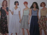 4388 Vintage Butterick SEWING Pattern Misses EASY Dress UNCUT Summer Spring OOP