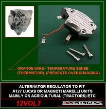 A127 LUCAS MAGNETI MARELLI ALTERNATOR REGULATOR FITS TRACTOR AGRICULTURAL