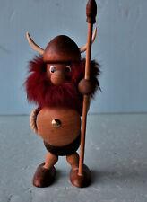 Kay Boyesen Viking Wikinger Denmark Teak 14 cm groß - Rarität! selten!
