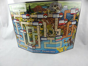 Pokemon Master Trainer 2001 Edition Replacement Game Board Parts Pieces