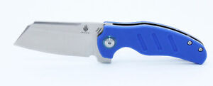 Kizer Vanguard Mini Sheepdog Blue G10 Handle Flipper 154CM Pocket Knife V3488C3