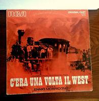 C'ERA UNA VOLTA IL WEST ENNIO MORRICONE RARE LP FIRST PRESS ITALY  10 / 1970