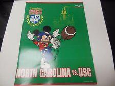 1993 PIGSKIN CLASSIC IV NCAA FOOTBALL PROGRAM NORTH CAROLINA VS USC RARE