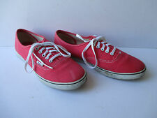 Ladies VANS Classic Coral Pink Lace Up Trainers, Size: UK - 6.5    EU - 40