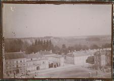 France, Grand Est, la Marne, Sainte-Menehould, ca.1900, vintage citrate print Vi