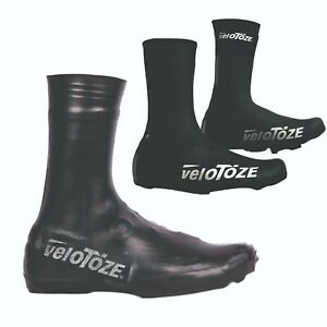VELOTOZE TALL SHOE COVERS MTB CYCLING BLACK   Fits over any cleat BNWT