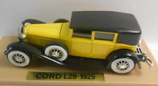 Solido 1/43 Scale Metal Model - SO228 CORD L 29 55 DARK YELLOW