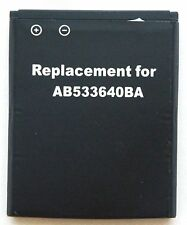 NEW AB533640BA Battery 4 Samsung Slash Replacement Cell Phone SGH-T339 SPH-M310
