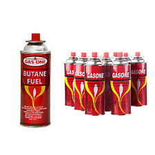 GASONE 8 Cans Butane Gas Fuel Canister 8oz For Portable Camping Stove.