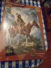 MASTER PIECES 550 JIGSAW PUZZLE NATIVE AMERICAN INDIAN BRAND NEW