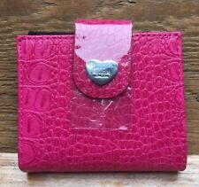Pretty Pink Faux Snakeskin Ladies Purse/By Storm London/New/Ideal Gift
