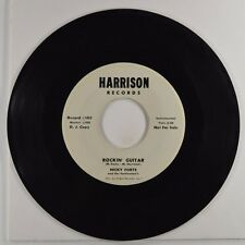 """nicky forte and the fortissimo's 7"""" 45 rockin guitar/baby i need... wl promo vg+"""