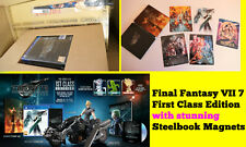 FINAL FANTASY VII 7 REMAKE First 1st Class Edition PS4 Cloud Figurine & MAGNETS