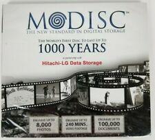 Modisc The Standard In Digital Storage Hitachi-Lg Data Last 1000 Years New
