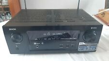 More details for denon avr-x2400h. integrated network av receiver amplifier with remote.