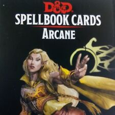 Spellbook Spell Cards Arcane Deck Wizard Warlock Sorcerer Dungeons Dragons RPG