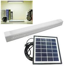Super Bright USB Charging LED Tube Bar Lamp Light Solar Panel for Desk Reading