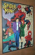 1996 Marvel Comics 22x17 Amazing Spider-man 2 sided poster: 1990's Marvelmania
