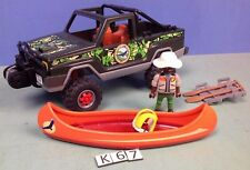 (K67) playmobil Pick Up des aventuriers ref 5558 5557 5560