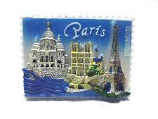Paris Magnet Souvenir France,Eiffelturm,Notre Dame,Sacre Coeur,nouveau