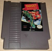 Target Renegade Nintendo NES Vintage classic original retro game cartridge
